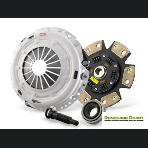 Jeep Renegade Performance Clutch Kit - 6 Puck Ceramic Dampened Disc - Clutch Masters - 1.4L Multi Air Turbo