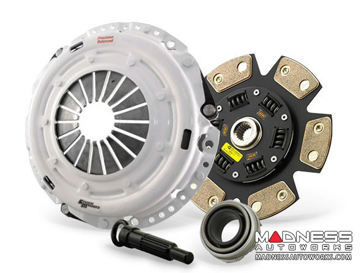 Jeep Renegade Performance Clutch Kit - 6 Puck Ceramic Dampened Disc - Clutch Masters - 1.4L Multi Air Turbo
