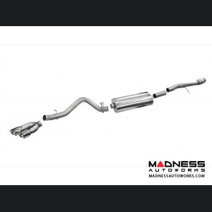 GMC Sierra 1500 6.2L Exhaust System by Corsa Performance - Cat Back