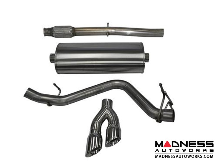 GMC Sierra 1500 5.3L Exhaust System by Corsa Performance - Cat Back