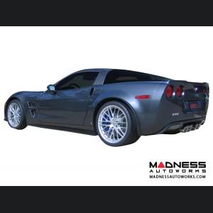 Chevrolet Corvette Exhaust System - Corsa Performance - C6 Z06 - Twin Pro Sport Series - Axle Back
