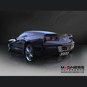 "Chevrolet Corvette Exhaust System - Corsa Performance - C7 - Valve Back  - 2.75"""