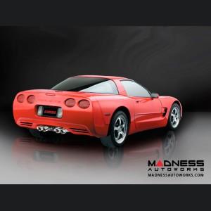 Chevrolet Corvette Exhaust System - Corsa Performance - C5 6.0L - Extreme Series - Cat Back