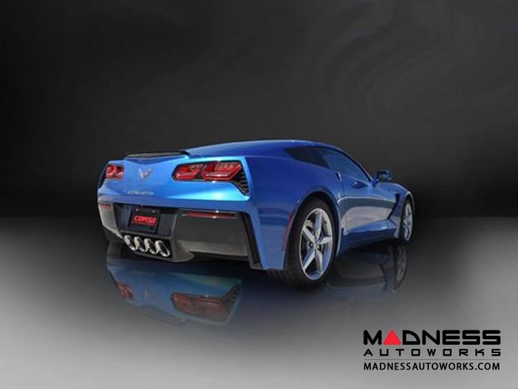"Chevrolet Corvette Exhaust System - Corsa Performance - C7 - Rear Section - 2.75"""