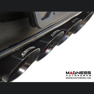 """Chevrolet Corvette Exhaust System - Corsa Performance - C7 - Valve Back - 2.75"""" - Black Tips"""