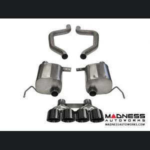 Chevrolet Corvette Exhaust System - Corsa Performance - C7 Z06 - Extreme Series - Cat Back