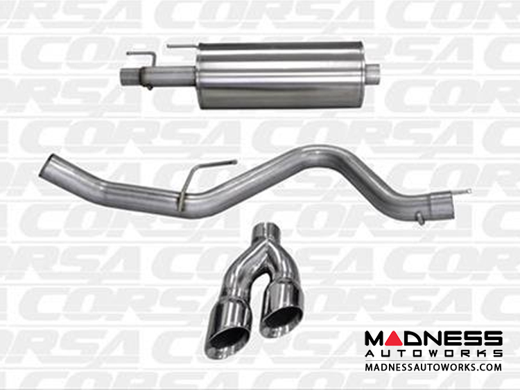 ford   3 5l v6 sport exhaust system by