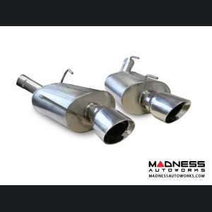 Ford Mustang GT Shelby 500 Exhaust System by Corsa Performance - Axle Back