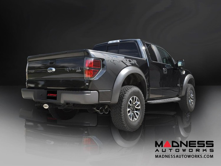 Ford F-150 6.2L SVT Raptor Extreme Exhaust System by Corsa Performance - Cat Back