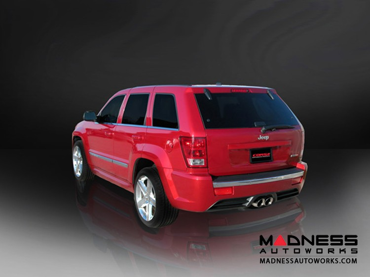 Jeep Grand Cherokee SRT8 Exhaust System by Corsa Performance - Cat Back