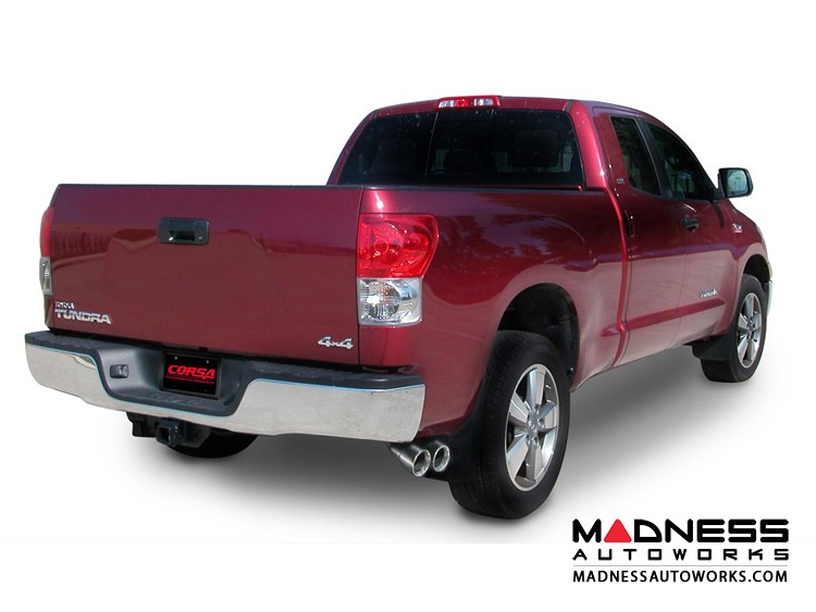 Toyota Tundra 5.7L Sport Exhaust System by Corsa Performance - Cat Back