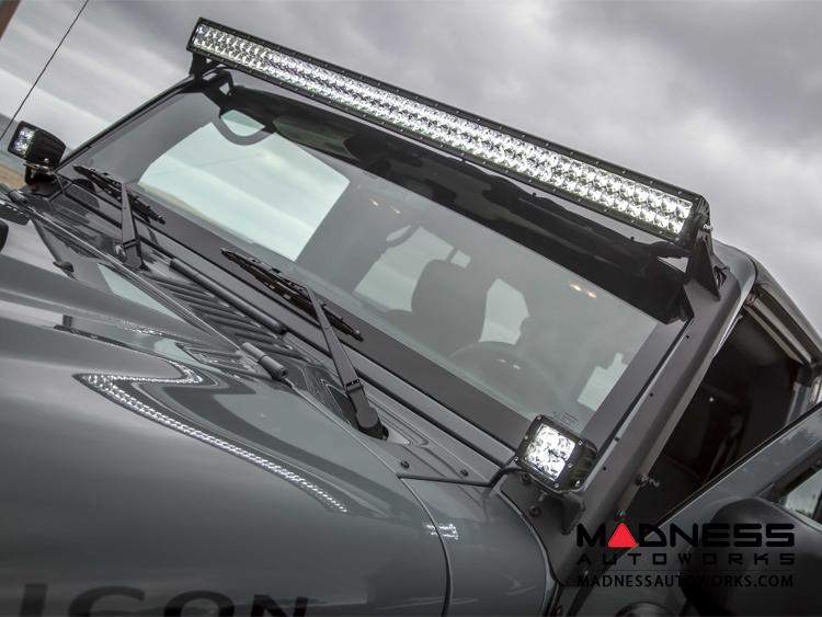 Jeep jeep wrangler jk by crawler conceptz 50 light bar mount jeep wrangler jk by crawler conceptz 50 light bar mount mozeypictures Choice Image