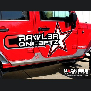Jeep Wrangler JK by Crawler Conceptz - Ultra Series JK 4 - Door Body Armor Aluminum