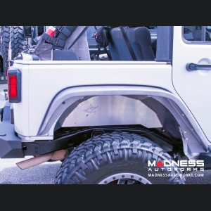 Jeep Wrangler JK by Crawler Conceptz - Ultimate Series JK Aluminum Rear Inner Fender Kit