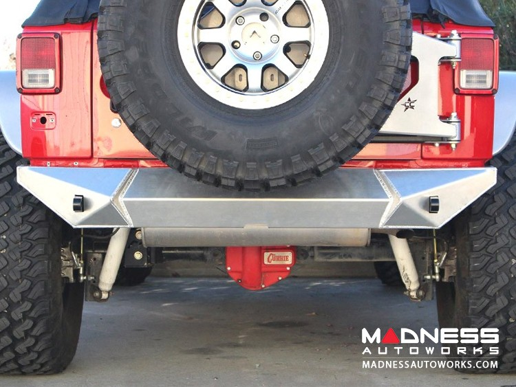 Jeep Wrangler JK by Crawler Conceptz - Ultra Series JK Rear Bumper w/ Tabs