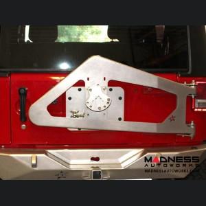 Jeep Wrangler JK by Crawler Conceptz - Ultra Series JK Body Mounted Tire Carrier