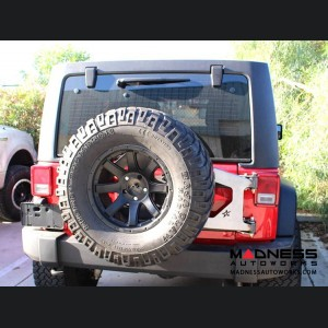 Jeep Wrangler JK by Crawler Conceptz - Ultra Series JK Body Mounted Tire Carrier