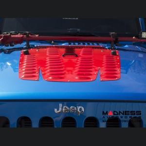 Jeep Wrangler JK by Crawler Conceptz - JK Hood Louver 2012+