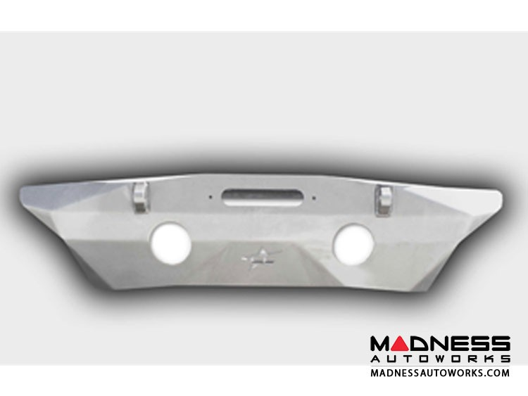 Jeep Wrangler JK by Crawler Conceptz - Ultra Series JK Front Bumper w/ Recessed Winch Mount w/ Tabs