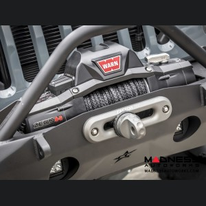 Jeep Wrangler JK by Crawler Conceptz - Ultra Series JK Front Bumper w/ Recessed Winch Mount w/ Bar & Tabs