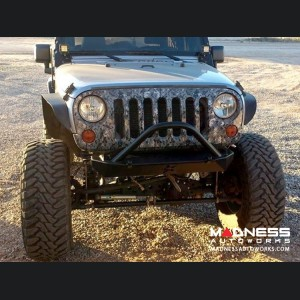 Jeep Wrangler JK by Crawler Conceptz - Skinny Series Front Bumper w/ Bar and Tabs