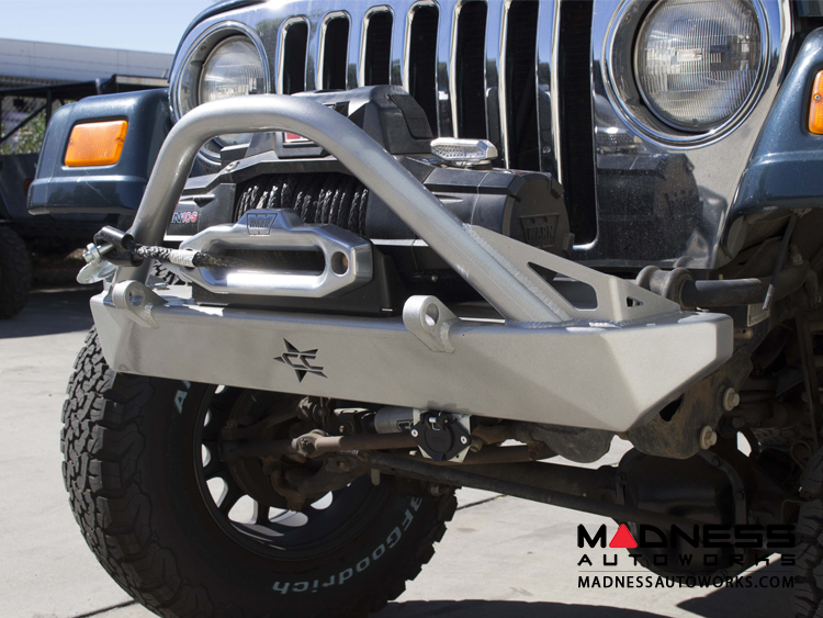 Charming Jeep Wrangler TJ And LJ By Crawler Conceptz   Ultra Series TJ And LJ Front  Bumper With Bar U0026 Tabs