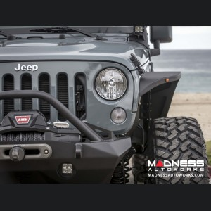 Jeep Wrangler JK by Crawler Conceptz - Ultra Series Standard Width JK Front Fender (Aluminum)