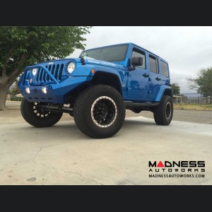 Jeep Wrangler JK by Crawler Conceptz - Ultra Series Full Width JK Front Bumper with Bar and Tabs
