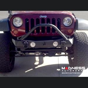 Jeep Wrangler JK by Crawler Conceptz - Ultra Series JK Front Bumper with Bar