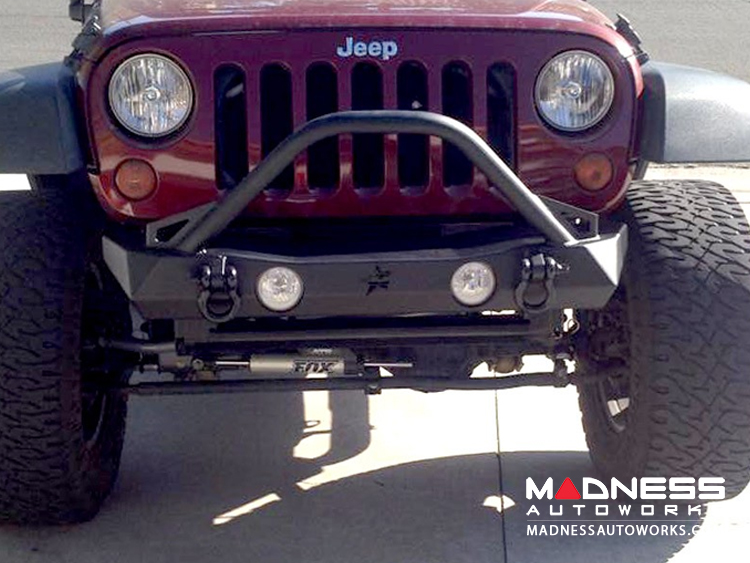 ... Jeep Wrangler JK By Crawler Conceptz   Ultra Series JK Front Bumper  With Bar ...