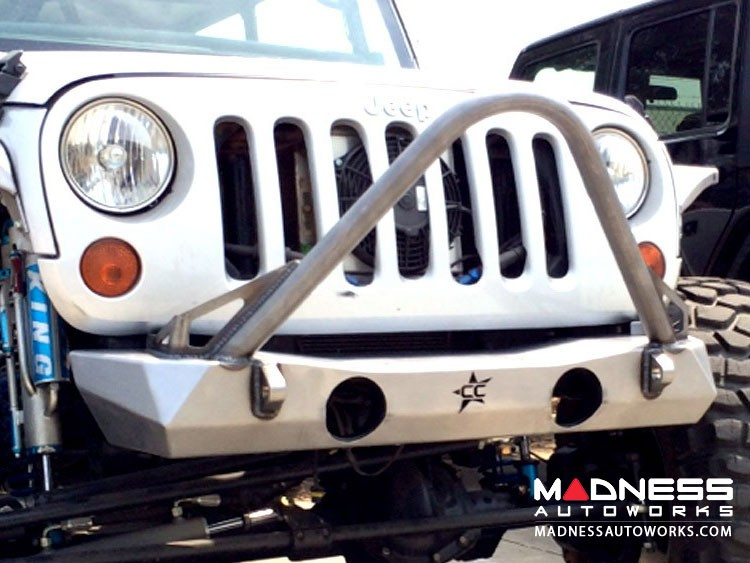 Jeep Wrangler JK by Crawler Conceptz - Ultra Series JK Front Bumper with Tabs and Stinger