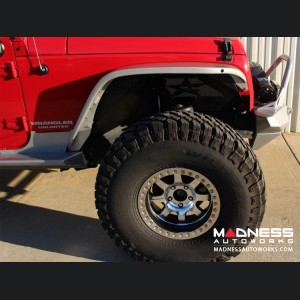 Jeep Wrangler JK by Crawler Conceptz - Ultra Series Skinny Front Fenders - Aluminium