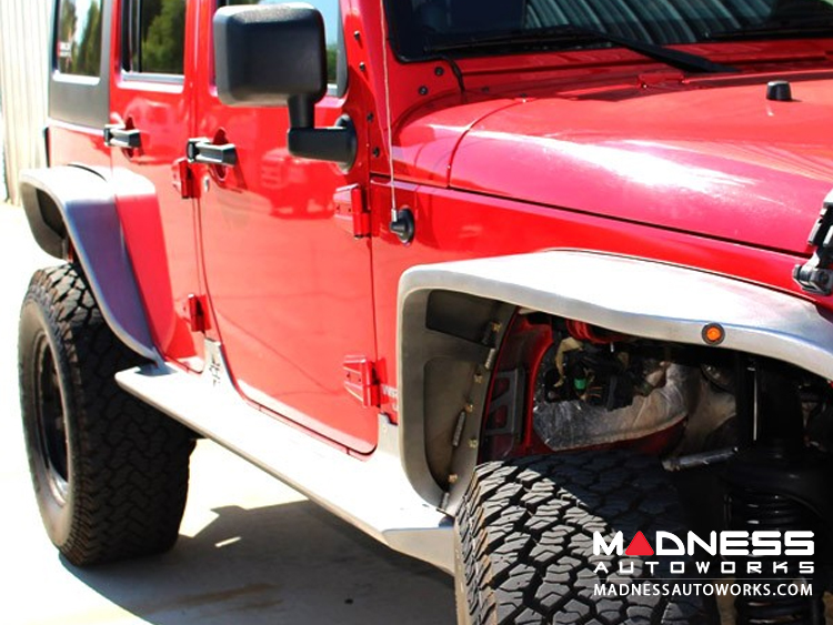 Jeep Wrangler JK by Crawler Conceptz - Ultra Series Skinny Front Fenders
