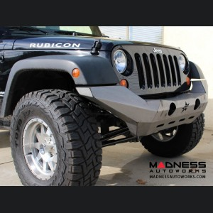 Jeep Wrangler JK by Crawler Conceptz - Ultra Series Full Width JK Front Bumper with Tabs