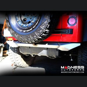 Jeep Wrangler TJ and LJ by Crawler Conceptz - Skinny Series Rear Bumper