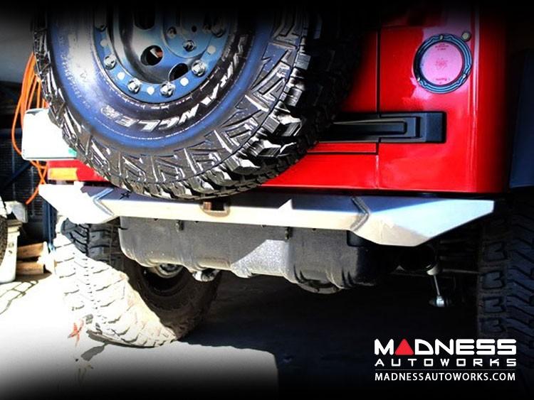 Jeep Wrangler TJ and LJ by Crawler Conceptz - Skinny Series Rear Bumper