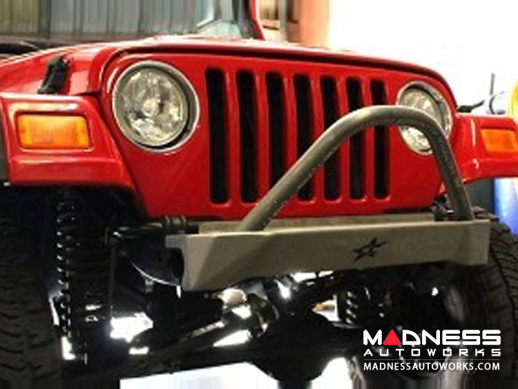 Jeep Wrangler TJ And LJ By Crawler Conceptz   Skinny Series Front Bumper W/  Bar ...