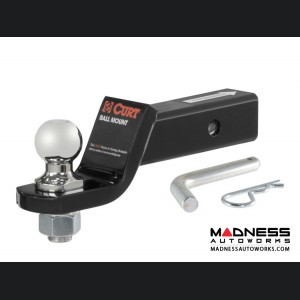 """Loaded Ball Mount by CURT - 45034 - 2"""" Receiver Tube"""