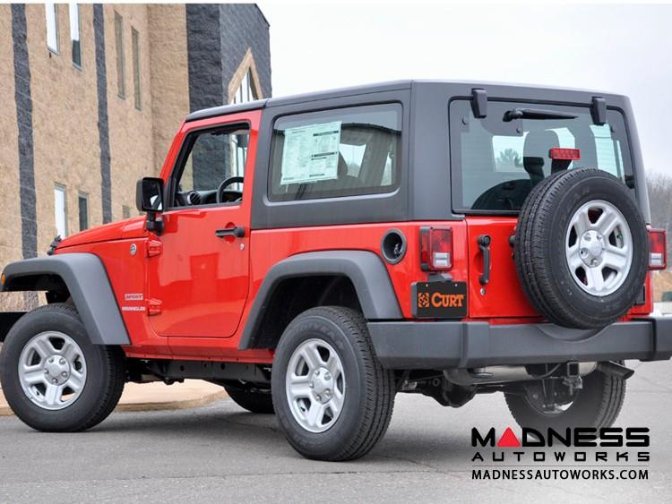 Jeep Wrangler JK Trailer Hitch - Class III Hitch (2007 - 2017)