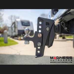 "GMC Sierra 1500 - Rebellion XD Adjustable Cushion Hitch Ball Mount - 2"" Shank w/ 6- 1/4"" Drop"