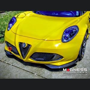 Alfa Romeo 4C Carbon Fiber Front Splitter Kit