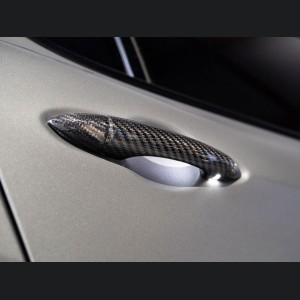 Alfa Romeo Stelvio Exterior Door Handle Set - Carbon Fiber
