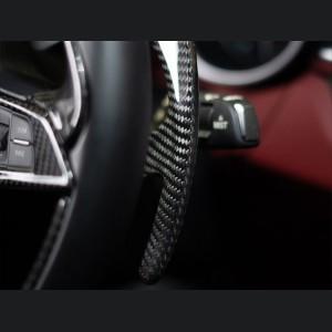 Alfa Romeo Stelvio Carbon Fiber Paddle Shifter Covers