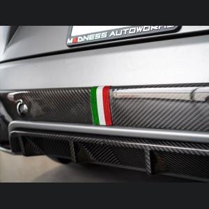 Alfa Romeo Stelvio Carbon Fiber Diffuser Frame - Quadrifoglio