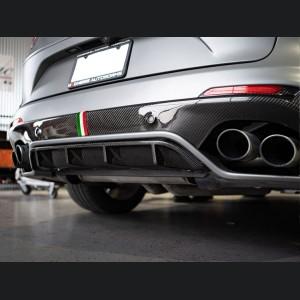 Alfa Romeo Stelvio Rear Diffuser - Quadrifoglio - Carbon Fiber
