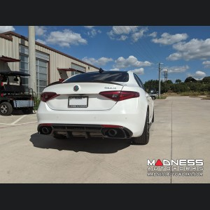 Alfa Romeo Giulia Diffuser - Carbon Fiber - Estremo - Gloss Finish - Base Model