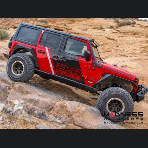 Jeep Wrangler JL Armor Style Fenders with Vents & Turn Signals