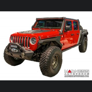 Jeep Gladiator JT Armor Style Fenders with Vents & Turn Signals