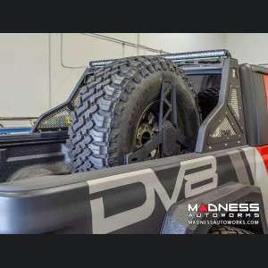 Jeep Gladiator Adjustable Stand up Tire Carrier - In-Bed by DV8