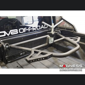 Jeep Gladiator Adjustable Tire Carrier - In-Bed by DV8
